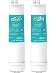 2 Pack AQUACREST RC-EZ-1 Replacement for Culligan RC-EZ-1,  US-EZ-1, RV-EZ-1, DuPont WFQTC30001, WFQTC70001 and Brita USF-201, USF-202 Water Filter