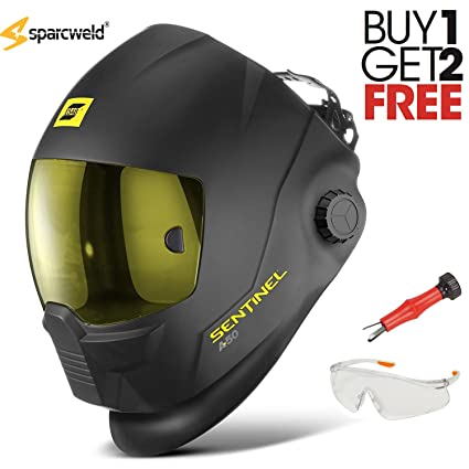 Esab SENTINEL A50 Auto Darkening Welding Helmet w/BIG PROMO - Buy one get two