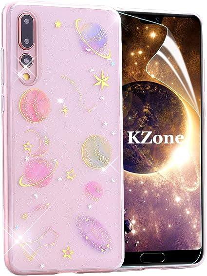 OKZone Funda Huawei P20 Pro, [Serie Cielo Estrellado] Cárcasa ...