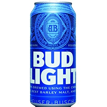 Bud Light Cans 20 Pack (330ml)