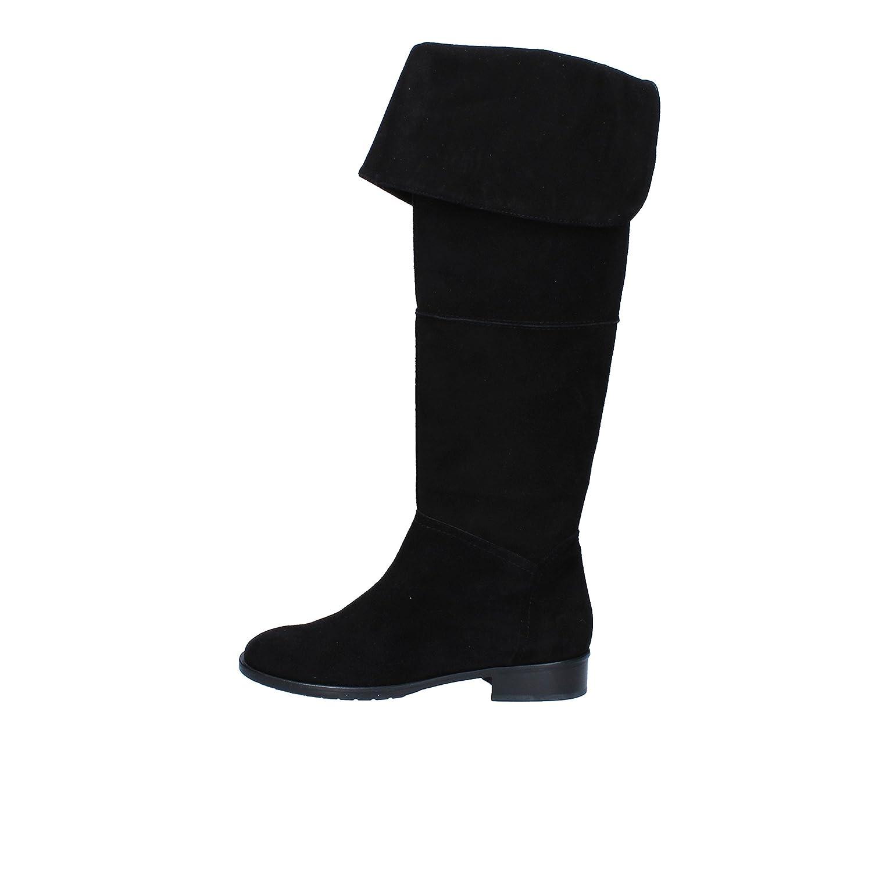 - DEL GATTO Boots Womens Suede Black