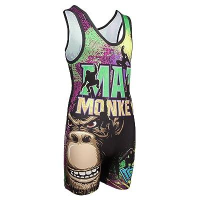 Wrestling Singlet by KO Sports Gear: Mat Monkey - Fun, Affordable, Head Turning