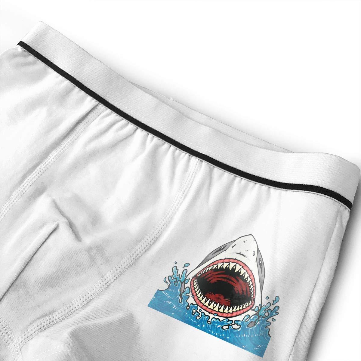 Shark Teenage Cotton Boxer Briefs Underwear
