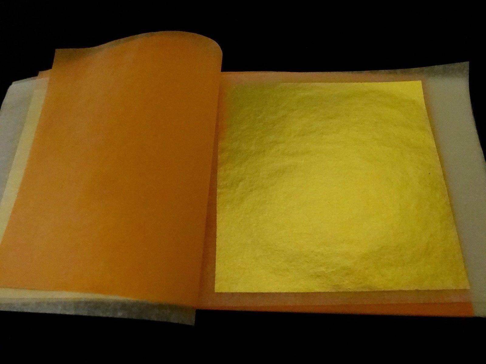 Genuine Gold Leaves (Transfer) (23k, 20 booklets (500 sheets))