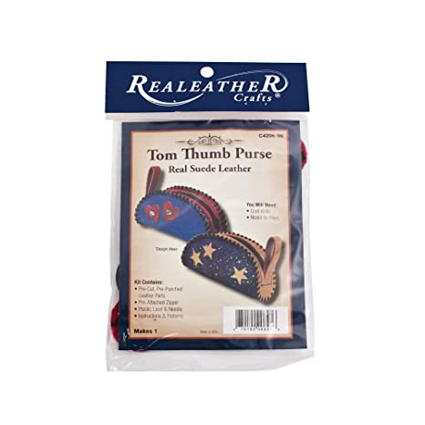 Amazon.com: Realeather C4206-98 Tom Thumb - Monedero de piel ...