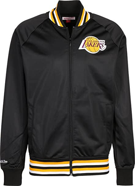 Mitchell & Ness Top Prospect LA Lakers Chaqueta black ...