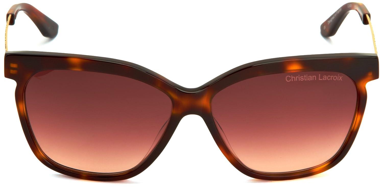 Christian Lacroix Damen CL5031 Groß Sonnenbrille, Black