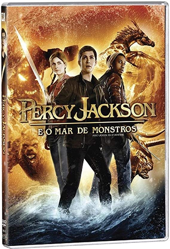 Percy Jackson E O Mar De Monstros: Amazon.com.br: DVD e Blu-ray