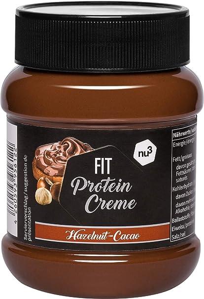 nu3 Fit Protein Creme - 400g Crema de chocolate y avellanas ...