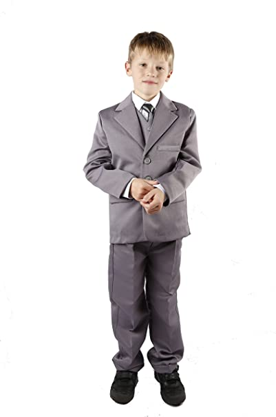 poshtotz 5 piezas traje para joven, Gris gris 9-12 Meses: Amazon.es ...