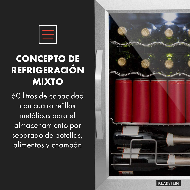 Klarstein Beersafe XL Mix It Edition Nevera - Nevera de bebidas ...