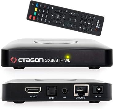 Octagon SX888 IP WL H265 Mini IPTV Box Receptor con Stalker, m3u Playlist, VOD, Xtream, WebTV [USB, HDMI, LAN, WLAN] Full HD: Amazon.es: Electrónica