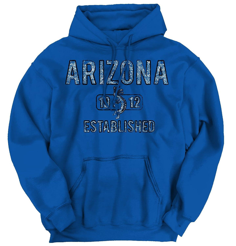 chic Arizona State Pride T Shirt State Flag USA Kokopelli Gift Hoodie