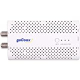 goCoax MoCA Adapter, MoCA 2.5, 2.5Gbps Ethernet Over Coax, 1xGbE Port, White(WF-803M)