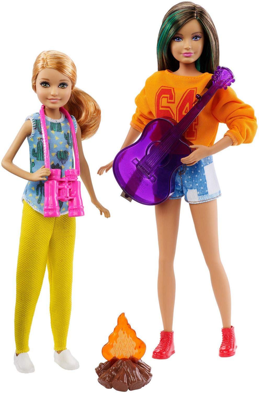 NEW Mattel Barbie Camping Fun Doll