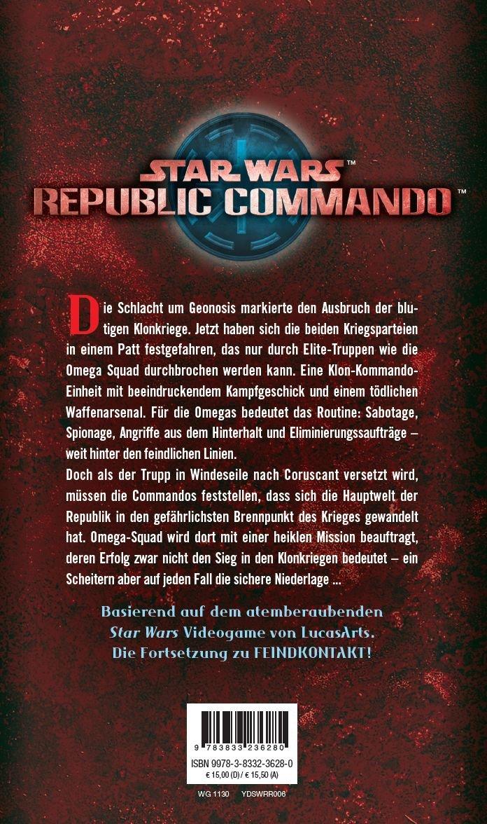 Star Wars: Republic Commando - Triple Zero: 9783833236280: Amazon ...