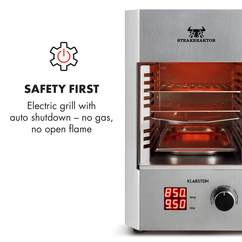Klarstein Steakreaktor Fettauffangschale Behälter Gastronomiebehälter Edelstahl