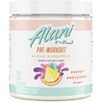 Alani Nu Pre-Workout Supplement Powder for Energy, Endurance, and Pump, Aloha Pineapple, 30 Servings (Packaging May Vary…