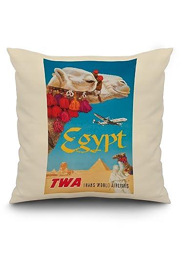 Amazon.com: TWA – Egipto clásico Cartel (Artista: Klein) C ...
