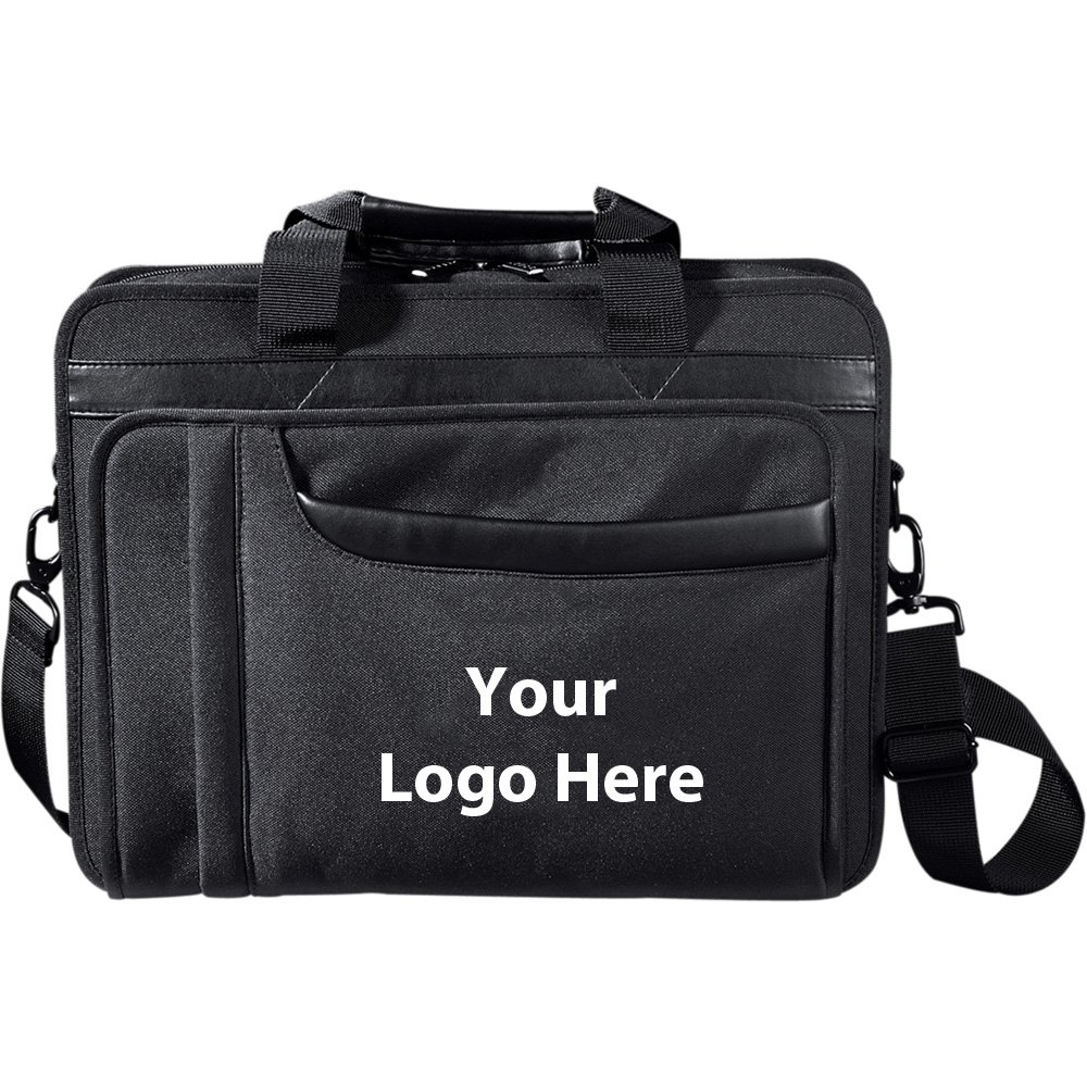 Paragon 17'' Computer Briefcase - 24 Quantity - $40.25 Each - PROMOTIONAL PRODUCT / BULK / BRANDED with YOUR LOGO / CUSTOMIZED