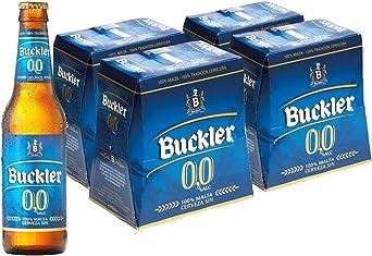Buckler 00 Cerveza - 4 Packs de 6 Botellas x 250 ml - Total: 6 L ...