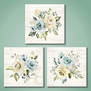 Floral Canvas Painting Wall