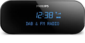 Philips AJB3000/12 - Radio (Reloj, Analógico y Digital, Dab,Dab+