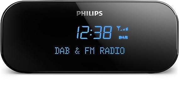 Philips AJB3000/12 - Radio (Reloj, Analógico y Digital, Dab,Dab+,FM, 87,5-108 MHz, 174-240 MHz, 1 W): Amazon.es: Electrónica