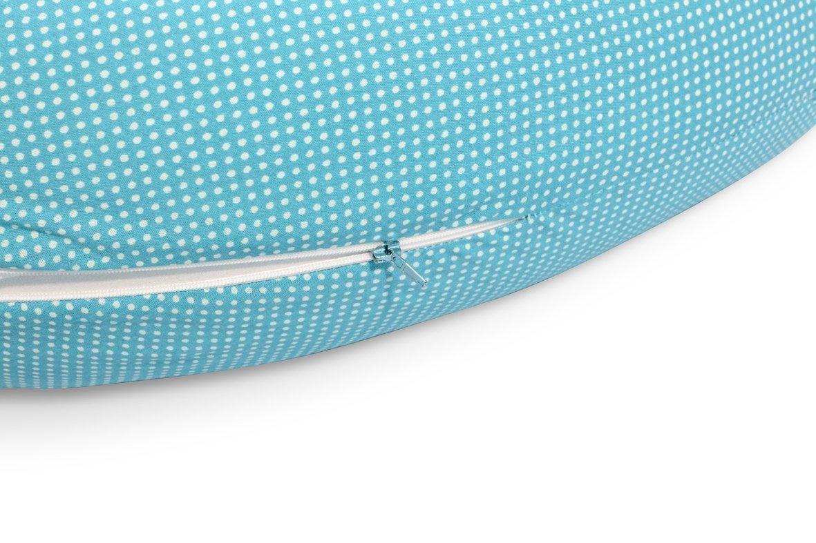 Sei Design /® Stillkissenbezug f/ür Stillkissen von Sei Design 170 x 30cm mit Rei/ßverschluss und hochwertiger Stickerei 100/% Baumwolle