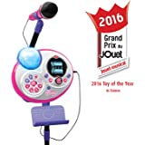 VTech Kidi Super Star Karaoke System with Microphone and Mic Stand - Online Exclusive