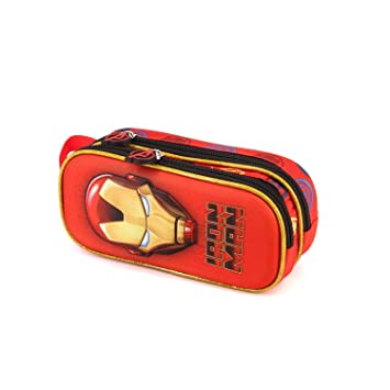 Amazon.com: Marvel Iron Man 3D - Estuche doble para lápices ...