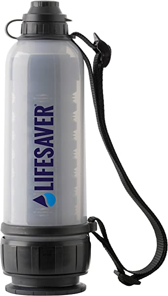 Portable Durable Camping Water Filter Bottle Outdoor Water Filtration O