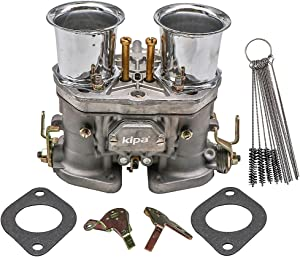 KIPA Carburetor With Air Horn For Weber 40 IDF 40mm BUG Beetle VW Fiat Prosche Solex Dellorto Weber EMPI 40mm Replacement Carb With Mounting Gaskets