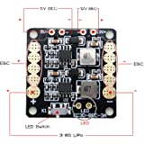 ARRIS® CC3D Naze32 Flight Controller Mini Power Distribution Board PDB w/LED (Comes with BEC 5V-12V output) for 250 Multicopter