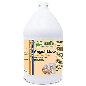 GreenFist [ Liquid ] Hand Soap Wash Refill Biodegradable 128 ounce, (1 Gallon)