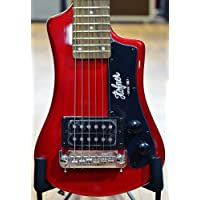 Hofner HCT Shorty Guitar - Red