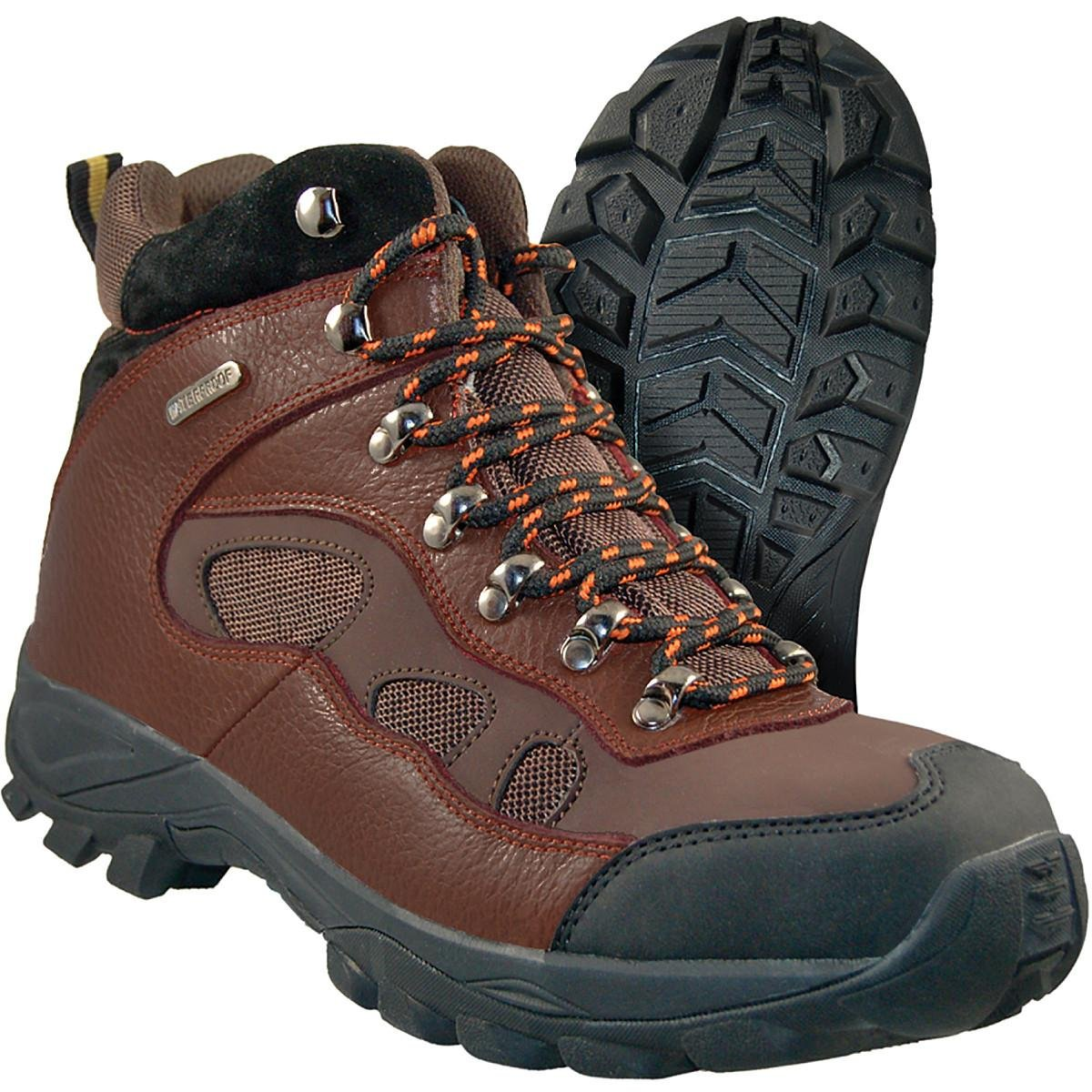 Itasca Men's Contractor II Toe Leather Work Fire and Safety Boot, Brown, 10 D US by Itasca