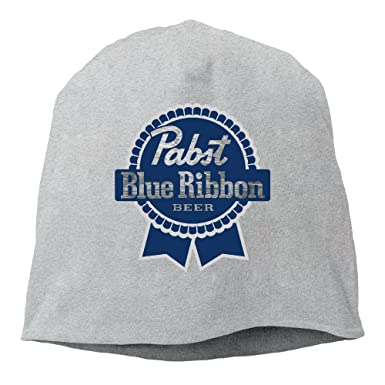 Amazon.com  Unisex Pabst Blue Ribbon Cool Skully Cap Slouch Beanie ... 38f23dcc064