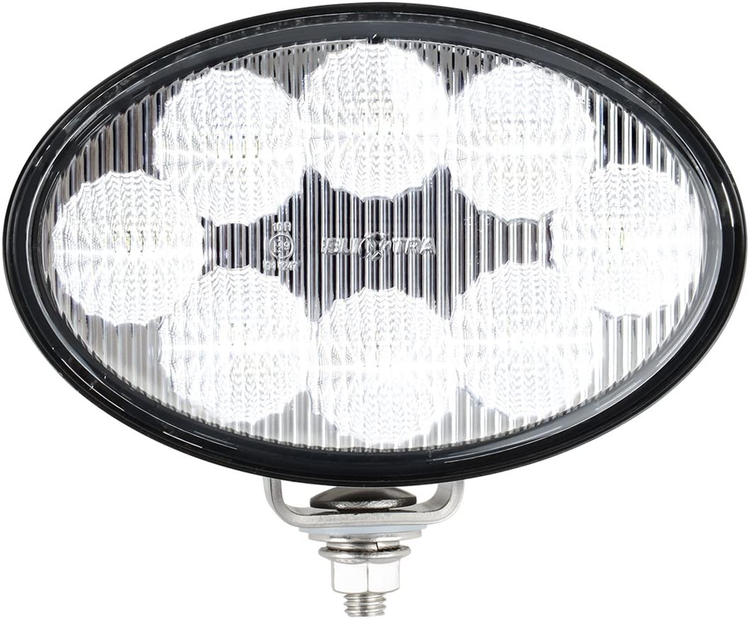 Grand General 76364 6 Oval Heavy Duty 8 LED Flood Light Multi-Voltage 12 to 36 Volts