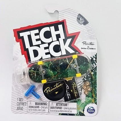 Amazon.com: Tech Deck Primitive Skateboards Series 11 ...