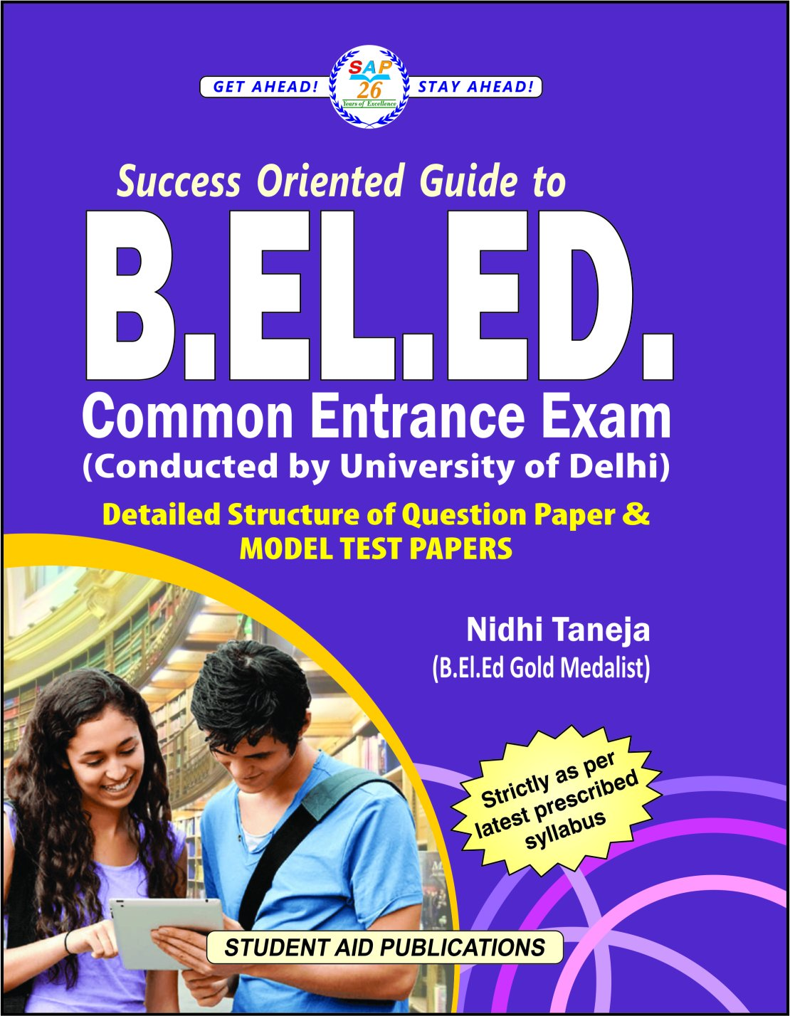 Buy B EL Ed Common Entrance Exam Model Test Papers Latest & Updated