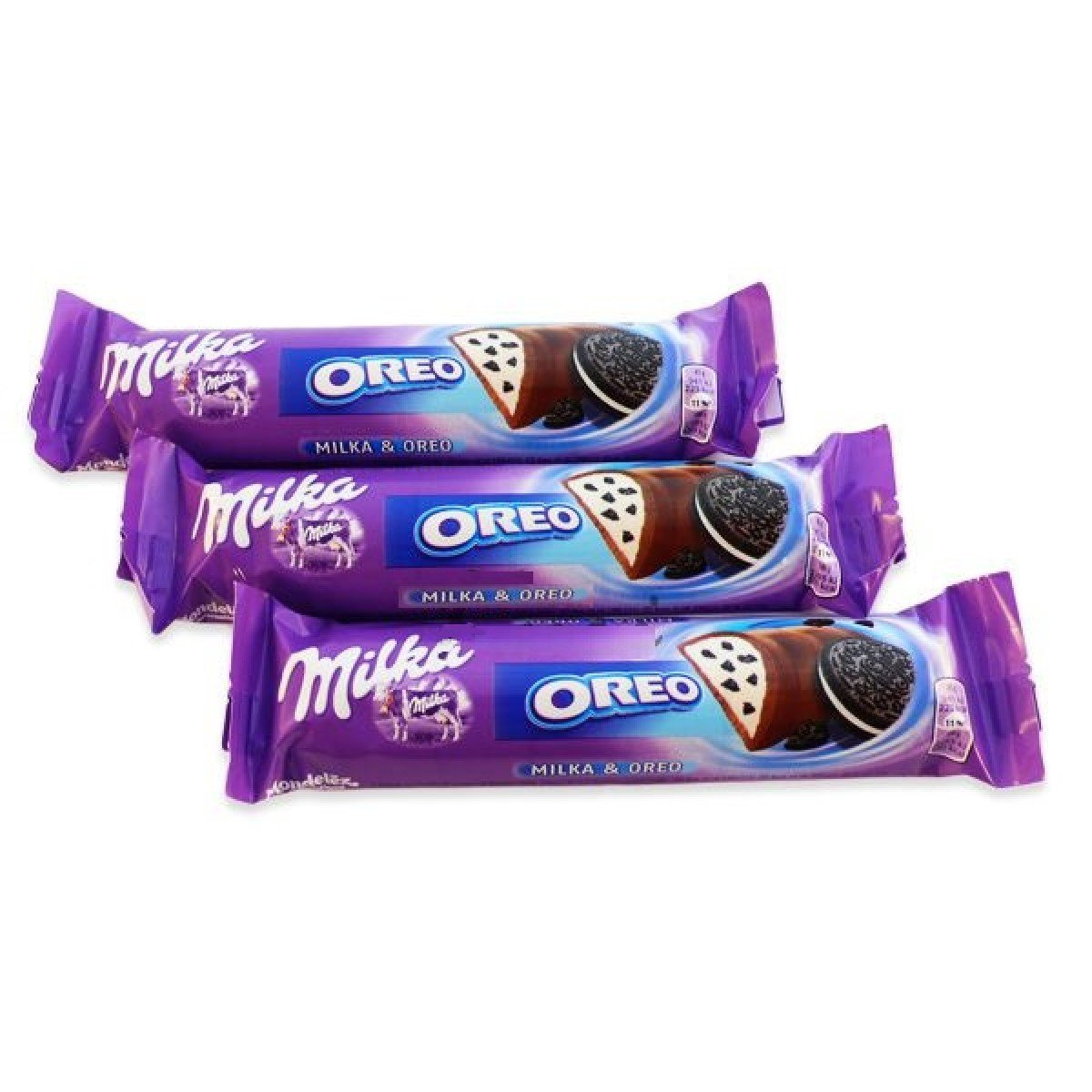 Milka & Oreo Chocolate Bar Pack of 5 x 41 grams Snack Size by Milka