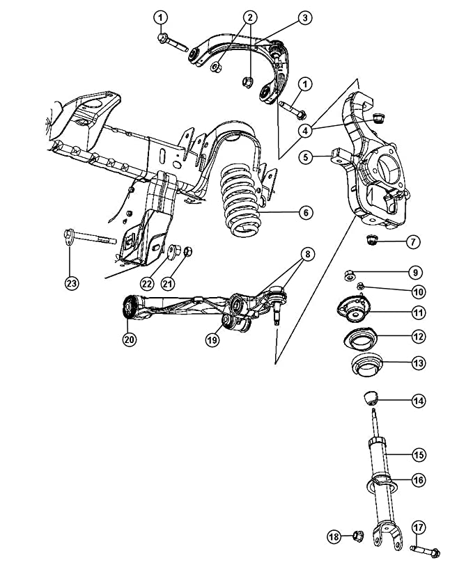 1996 Dodge Ram Suspension