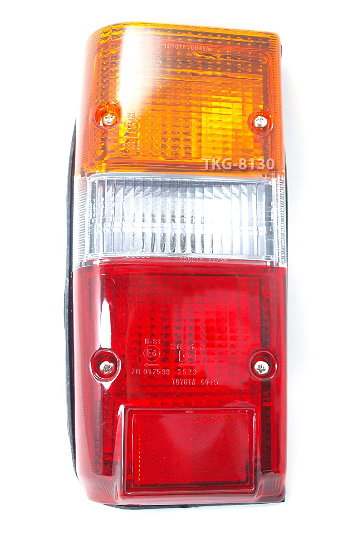 1 Pair Rear Taillights Tail Light Lamps Lens For Toyota Landcruiser 60 Series FJ60 1980-1989