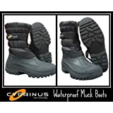 Cyprinus Waterproof Winter Yard Stable Snow Rain Wellington Muck Boots