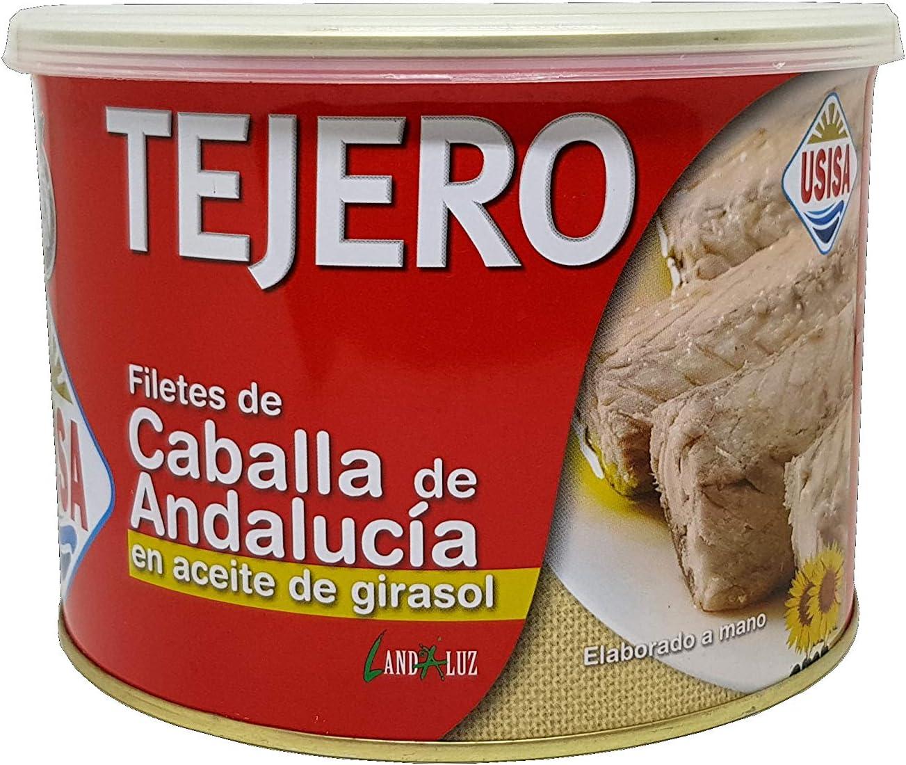 Tejero, Filetes de Caballa de Andalucia en aceite girasol - 1800 gr.