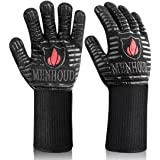 [Latest 2021] BBQ Gloves, 1472℉ Extreme Heat Resistant, Food Grade Kitchen Oven Gloves, Smoker, Grill, Cooking Barbecue to Ha