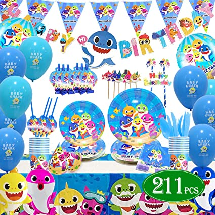 16 Baby Shark Birthday Party Toy Favors Gifts Supplies