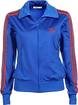 7d0593959e593 Adidas Firebird Women's Tracksuit Jacket, X32104, blue red, 6 ...