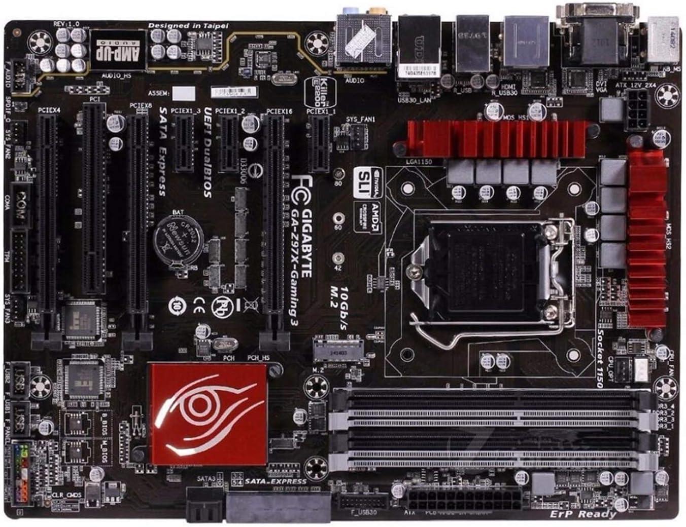 Placa Base Ajuste Fit For Gigabyte GA-Z97X-GAMING 3 Placa Base Z97X-GAMING 3 Z97 Socket LGA 1150 DDR3 USB3.0 SATA3.0